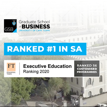 UCT GRADUATE SCHOOL OF BUSINESS - ICON