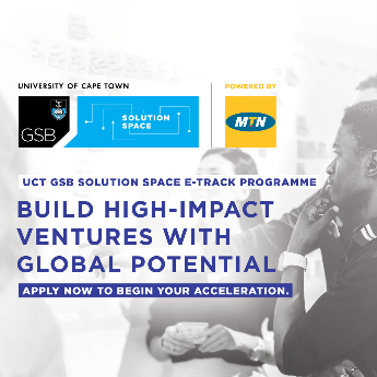 UCT GSB'S E-TRACK PROGRAMME - ICON
