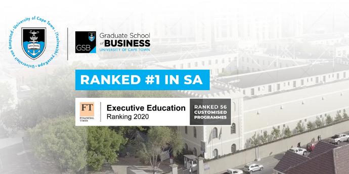 UCT GRADUATE SCHOOL OF BUSINESS - Media